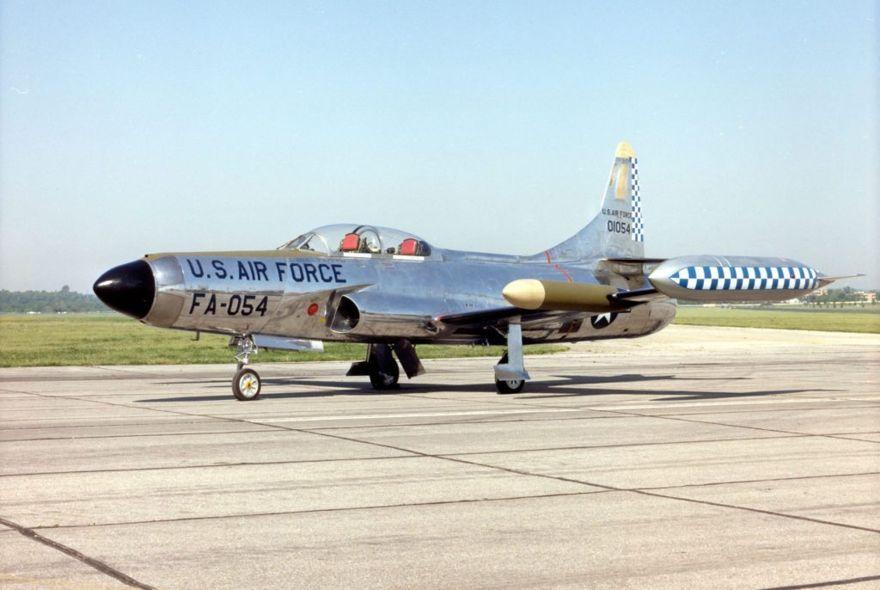 Lockheed F-94C Starfire en el Museo Nacional de la Fuerza Aérea de los Estados Unidos. (Foto de la Fuerza Aérea de los Estados Unidos)
