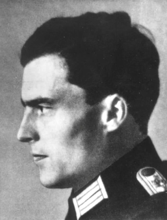 Klaus von Stauffenberg. Crédito: AP