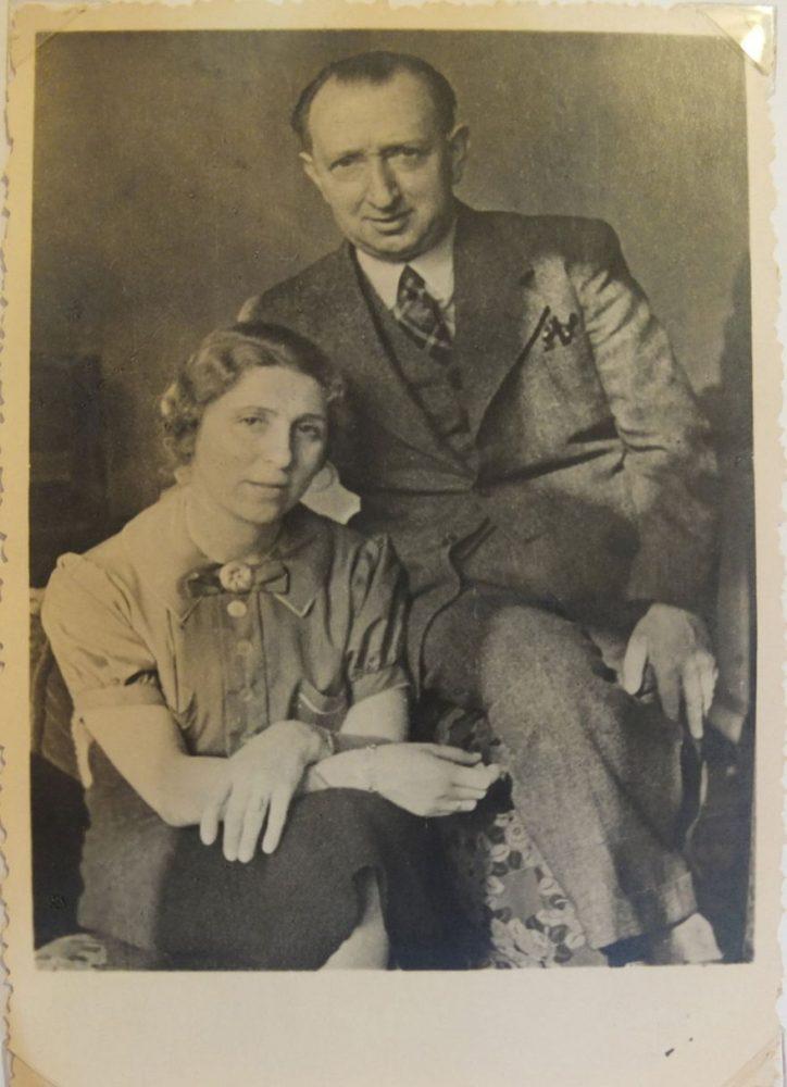 Georg y Charlotte Nomburg, 1938.