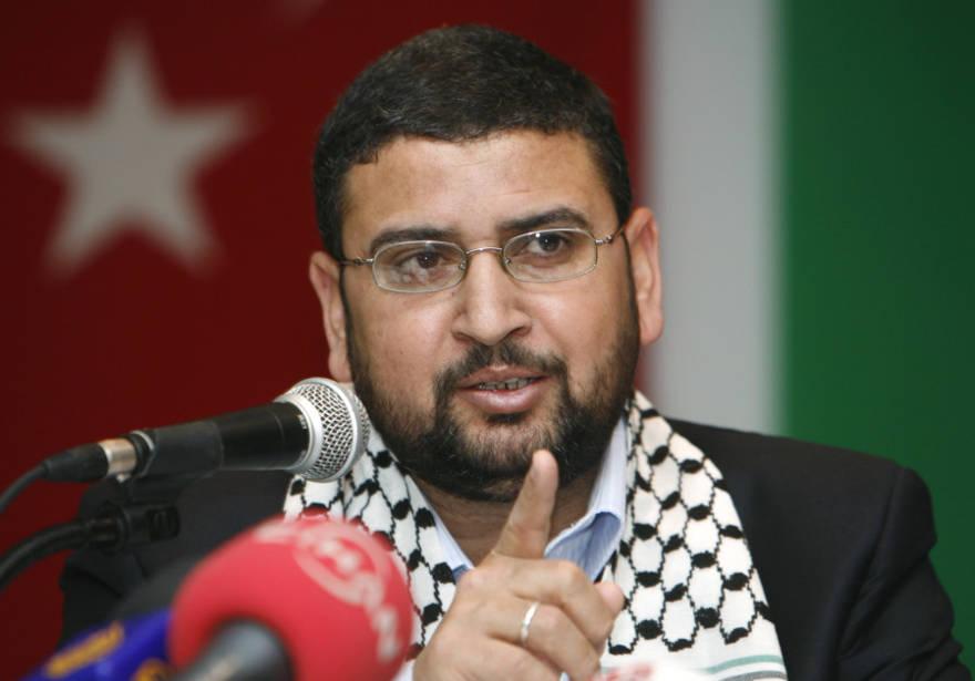El portavoz de Hamas, Sami Abu-Zuhri. (Crédito de la foto: REUTERS / OSMAN ORSAL)