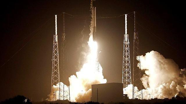 La nave espacial Beresheet durante el lanzamiento en Florida (Foto: Reuters)