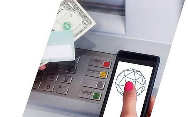 La tecnología Sonarax se puede usar para permitir el pago ultrasónico entre teléfonos inteligentes y cajeros automáticos y otros dispositivos que tienen un altavoz o un micrófono (Cortesía)
