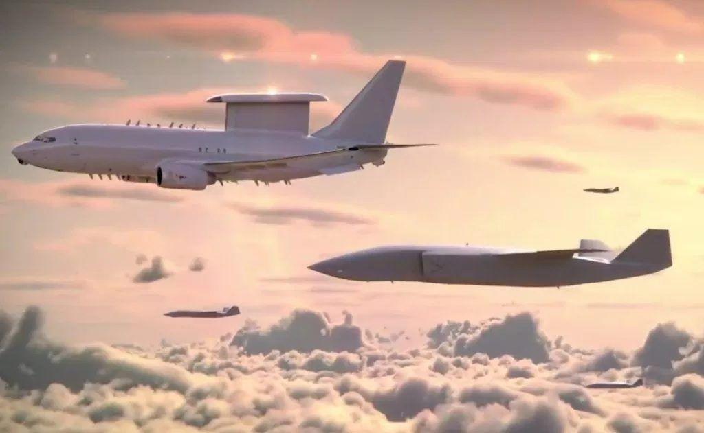 El concepto de Loyal Wingman de Boeing.