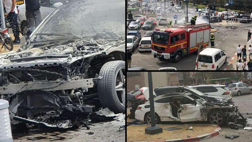 Pánico en Eilat: un coche explotó fuera de un hotel