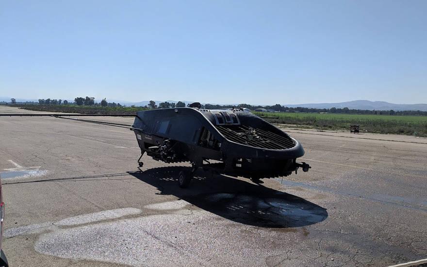 El cormorán, desarrollado por Tactical Robotics Ltd. de Israel, se adaptará para fines agrícolas junto con Adama Agricultural Solutions (Cortesía)