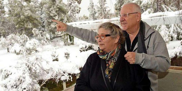 Nechama Rivlin, esposa del presidente de Israel recibe un trasplante de pulmón