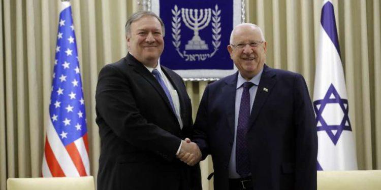 """Pompeo a Rivlin: EE. UU.tiene la """"obligación moral"""" de garantizar la estabilidad de Oriente Medio"""