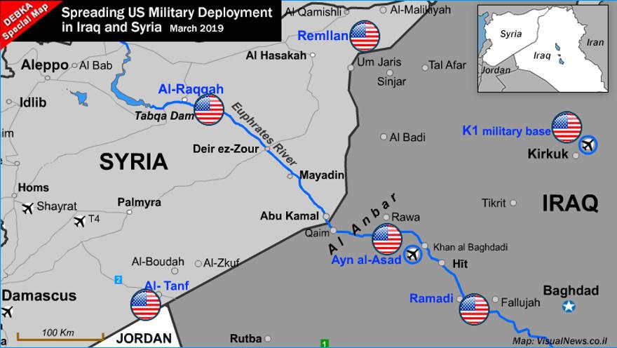 La extensión de despliegue militar estadounidense en Irak y Siria