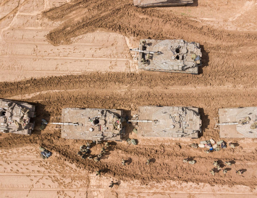 Crédito: Fuerzas de Defensa de Israel