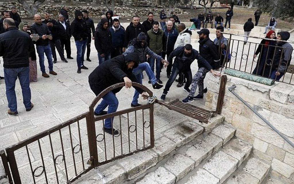"Waqf jordano advierte: ¡La Puerta de la ""Misericordia"" permanecerá abierta!"