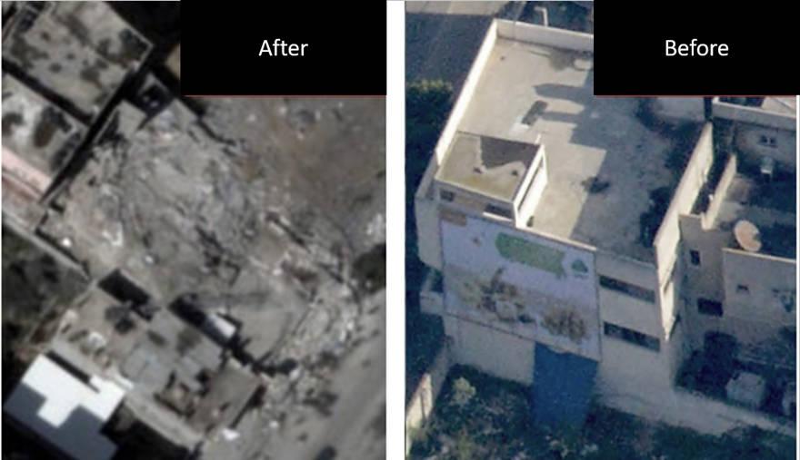 Base terrorista de Hamas - Sabra
