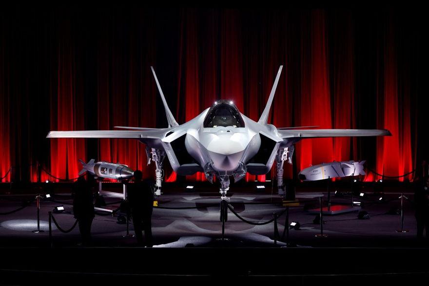 Un caza de combate F-35 que fue destinado a Turquía en una ceremonia en Lockheed Martin en Forth Worth, Texas, en 2018.