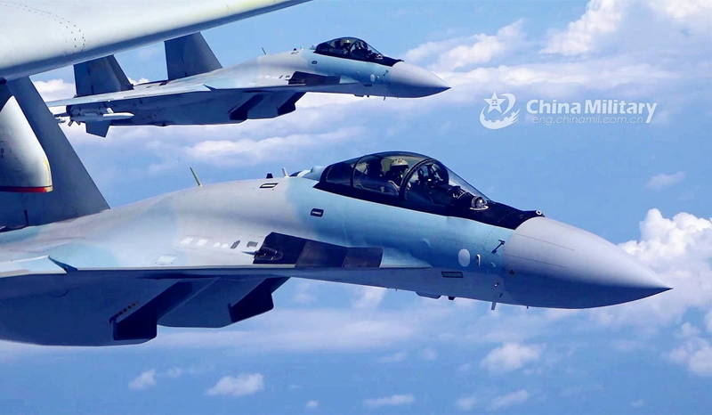 China recibe lote final de aviones de combate Su-35 de Rusia