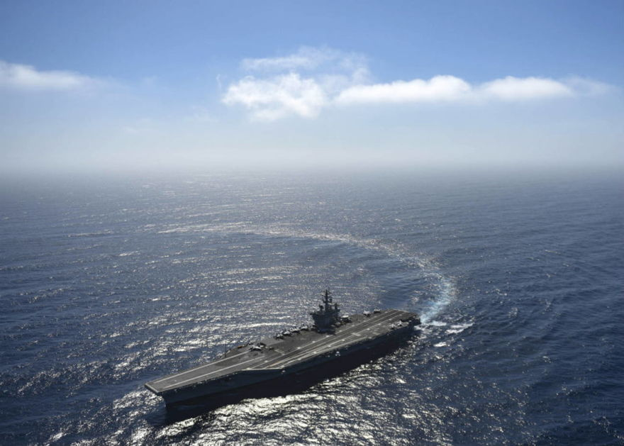 Portaaviones clase Nimitz (Suboficial de 2da clase Siobhana McEwen)