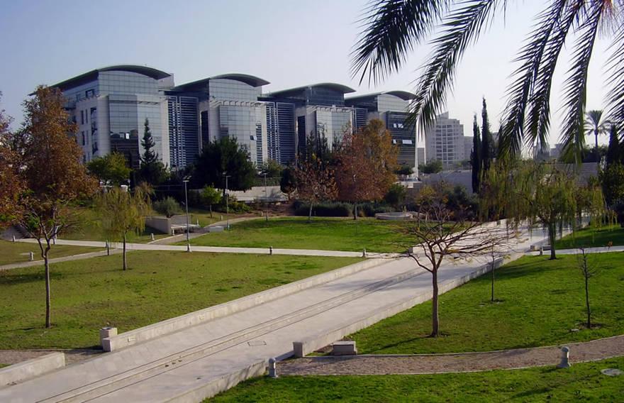 Unity Park en la Universidad Bar-Ilan, Facultad de Ingeniería, en Ramat Gan, Israel. Crédito: Avishai Teicher a través de Wikimedia Commons.