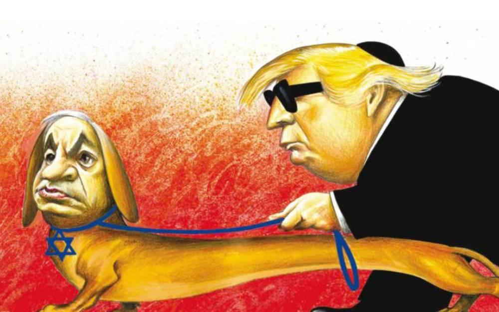 NY Times imprime caricatura con tropos antisemitas