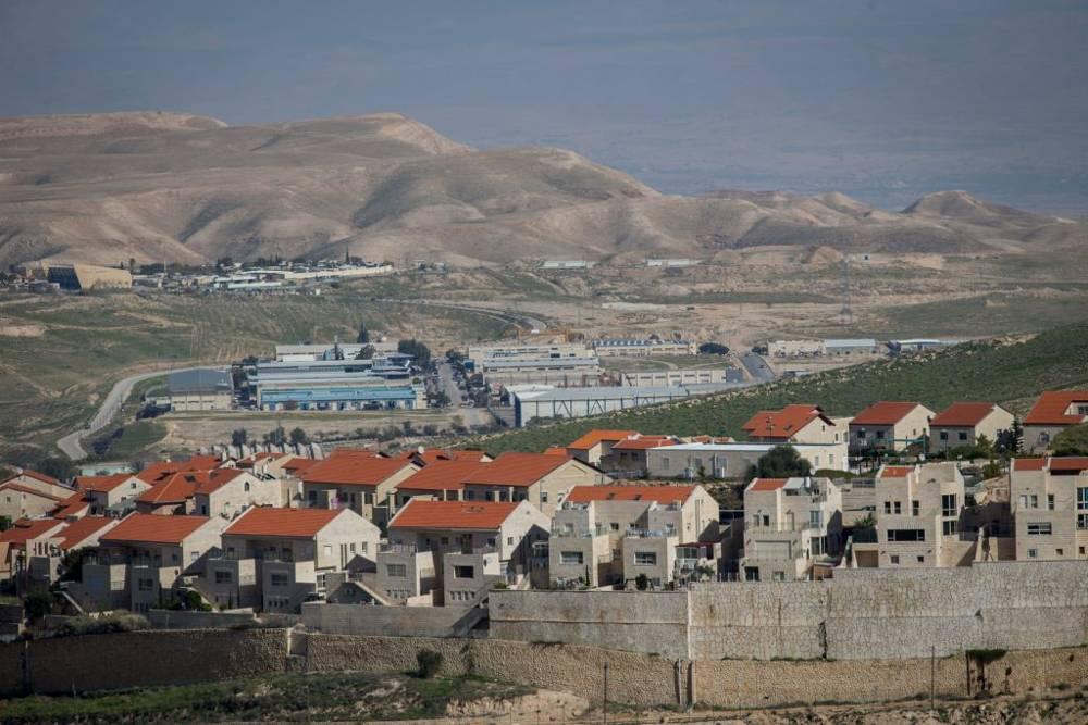 La ciudad de Ma'ale Adumim, uno de los poblados israelíes más grandes de Cisjordania.(Yonatan Sindel / Flash 90)