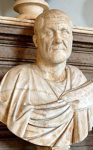 Retrato en mármol de Maximinus Thrax, que gobernó el Imperio Romano en 235-238 CE. (dominio público a través de wikipedia)