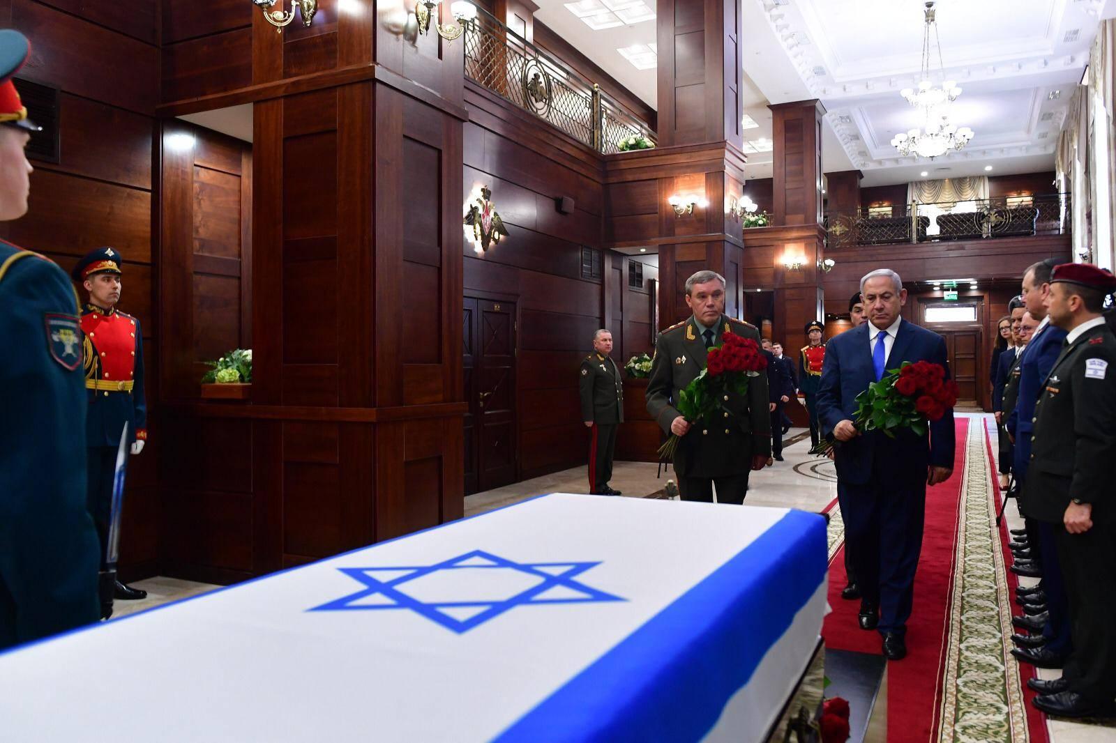 Rusia entregó los artículos personales de Zachary Baumel a Netanyahu