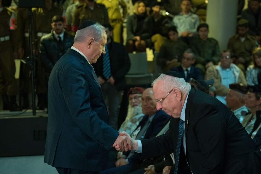 Rivlin nomina formalmente a Netanyahu como primer ministro de Israel