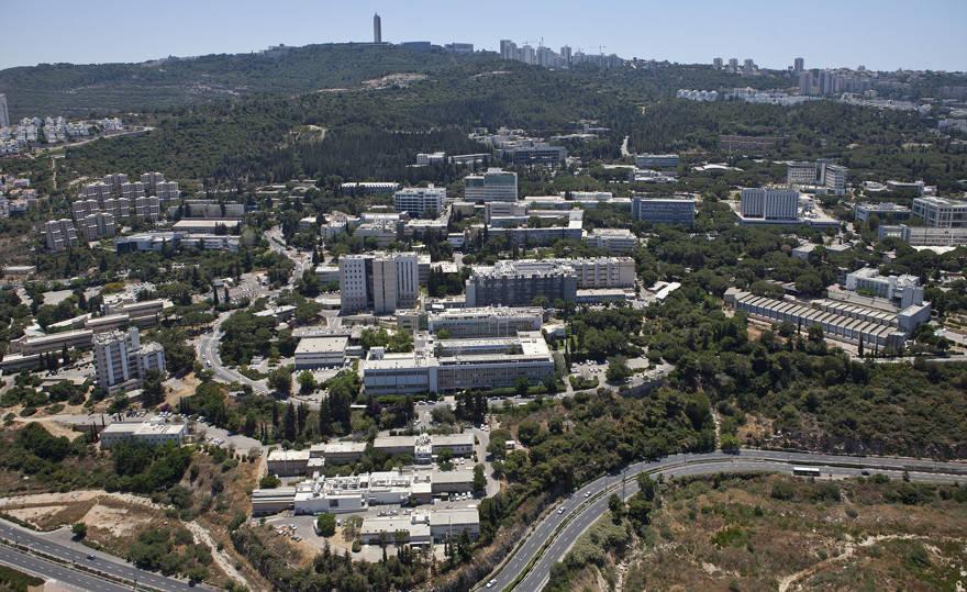 El campus del Instituto de Tecnología Technion-Israel en el Monte Carmelo, Haifa. Crédito: Wikimedia Commons.