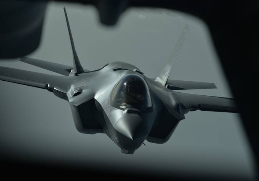 Los F-35 de EE. UU. realizaron primera misión de combate contra ISIS