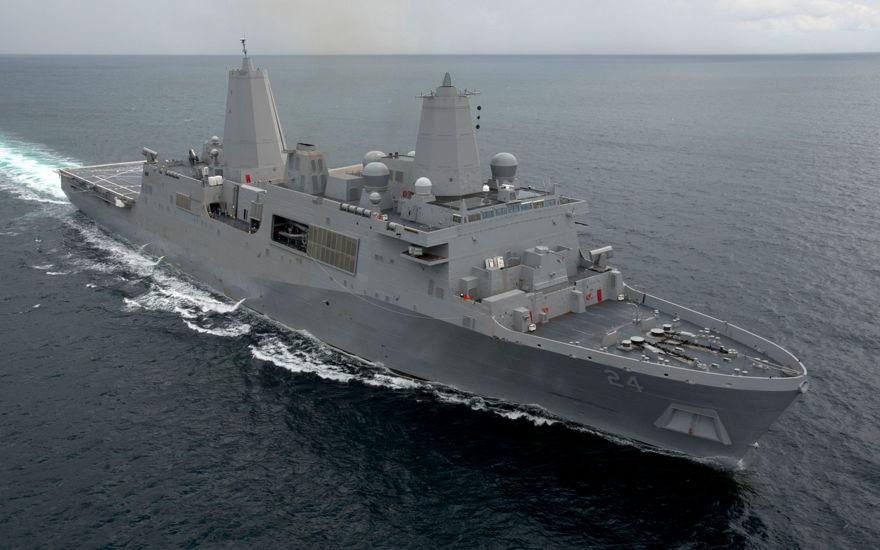 El USS Arlington de EE. UU. (Navy Live)
