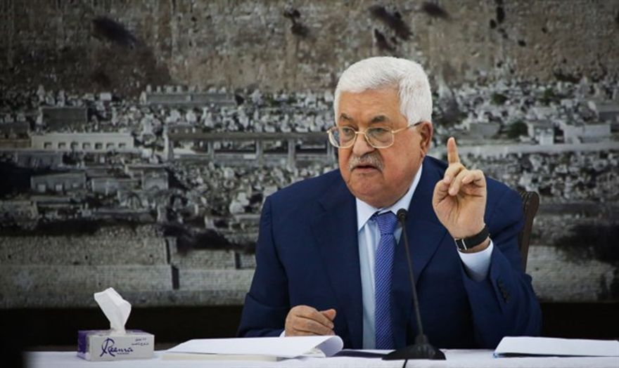 Mahmoud Abbas, jefe de la AP - Flash90