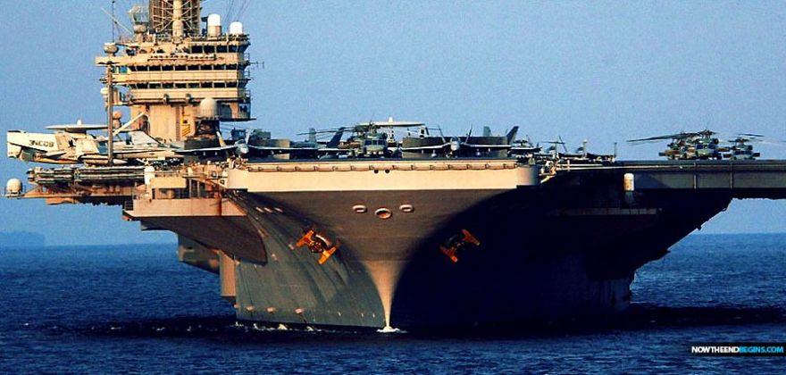 Estados Unidos envía portaaviones a Medio Oriente en advertencia a Irán