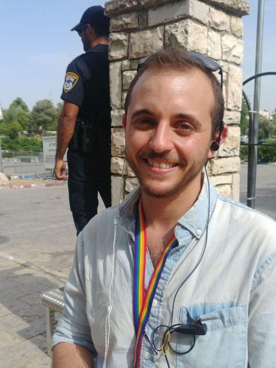 Ofer Erez, Director de la Casa Abierta, el centro comunitariogaydeJerusalén
