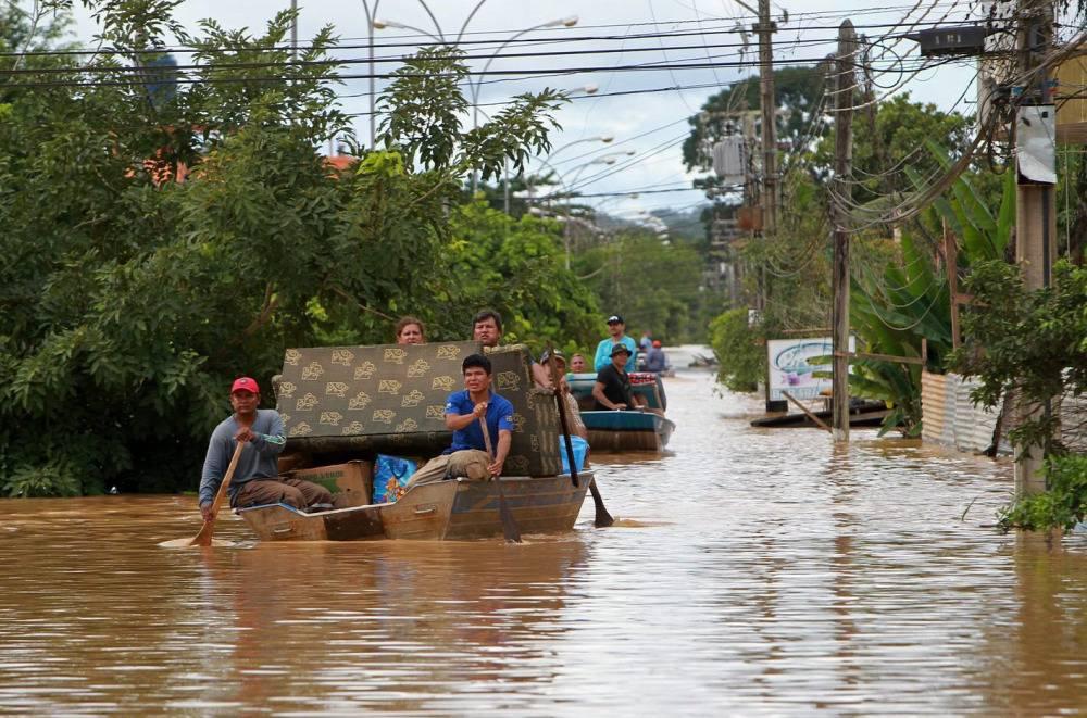 Inundación Paraguay