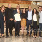 Medalla humanidades Anahuac CC y Emb Israel 226