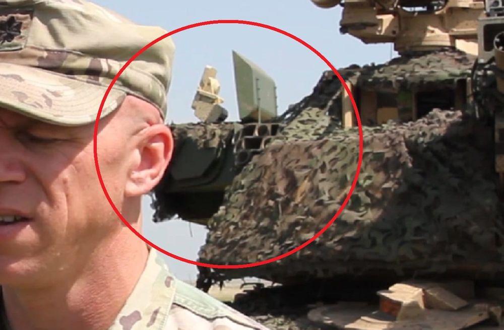 Misteriosa versión del tanque Abrams fue vista en Rumania