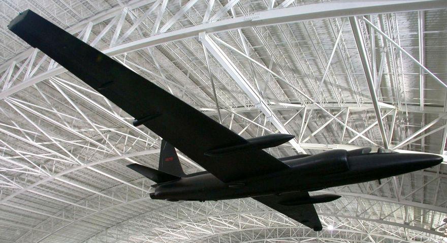 Un avión espía Lockheed U2 similar al volado durante la Guerra Fría (Wikipedia / Greg Goebel)