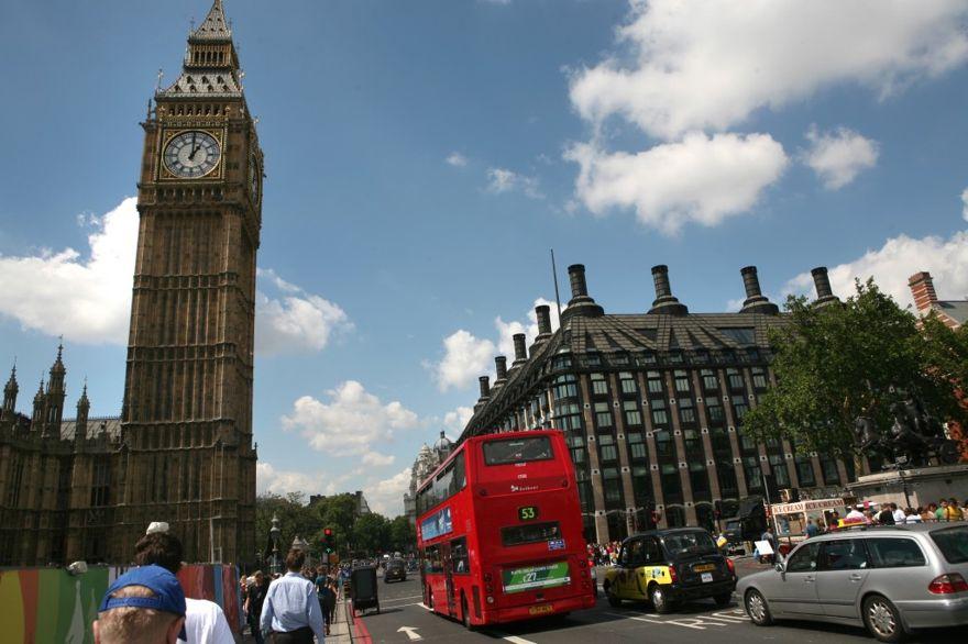 Ilustrativo: Big Ben y las Casas del Parlamento en Londres. (Yossi Zamir / Flash90)