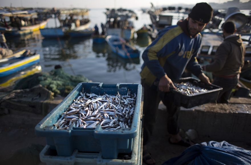 Israel reduce zona de pesca de Gaza por ataques con cohetes