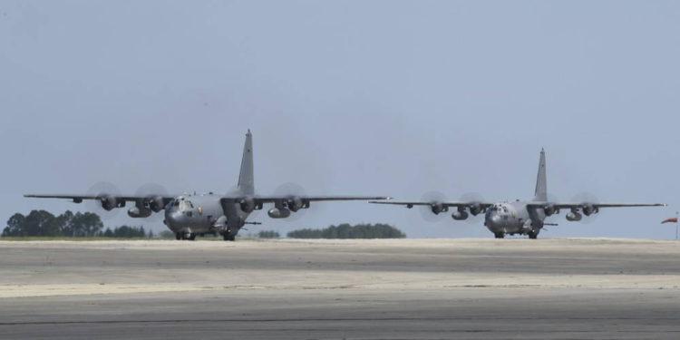 Helicópteros de la Fuerza Aérea de EE.UU. completaron despliegue de combate final