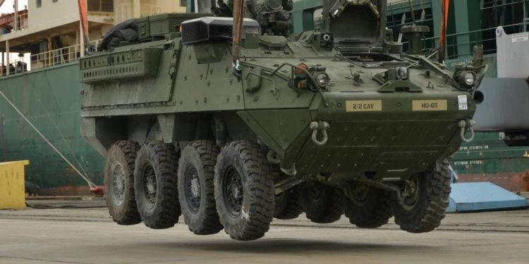Estados Unidos aprueba la venta de vehículos de infantería Stryker a Tailandia