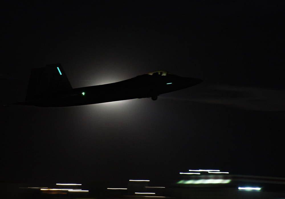 USAF publica un video de las operaciones nocturnas en el ejercicio de Red Flag