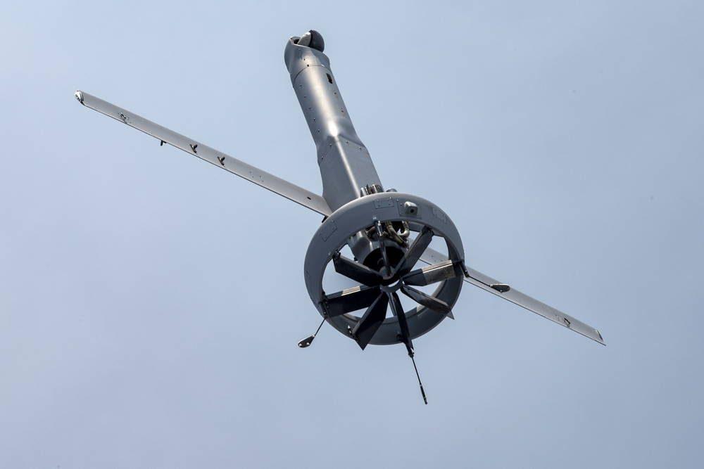 Marina de EE.UU. realiza pruebas de aviones no tripulados revolucionarios
