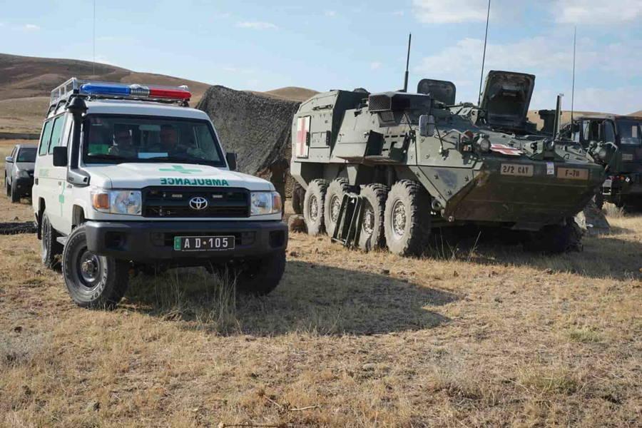 """""""Dragones"""" del Ejército de EE.UU. participarán en ejercicio masivo cerca de la frontera entre Rusia y Georgia"""