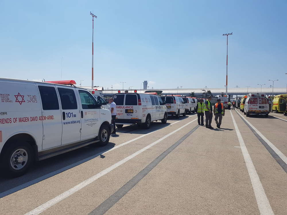 Aeropuerto Ben Gurión en alerta máxima en anticipación a aterrizaje de emergencia