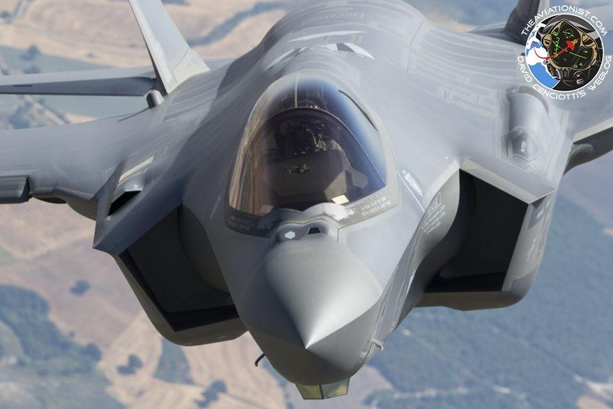 Vídeo del caza F-35 demuestra su impresionante maniobrabilidad