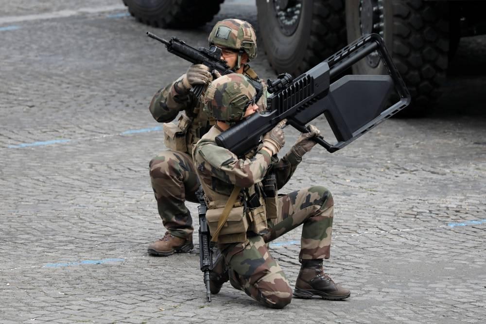 Francia soldados