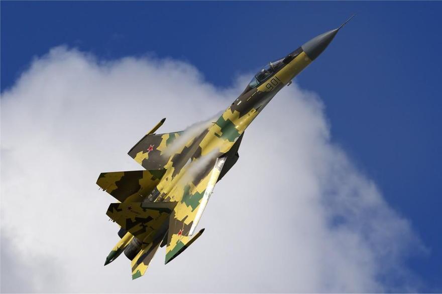 Su-35 de Rusia