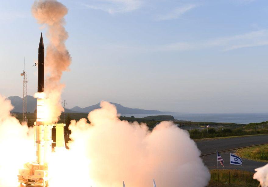 Israel y EE. UU. realizaron exitosas pruebas del misil Arrow 3 en Alaska
