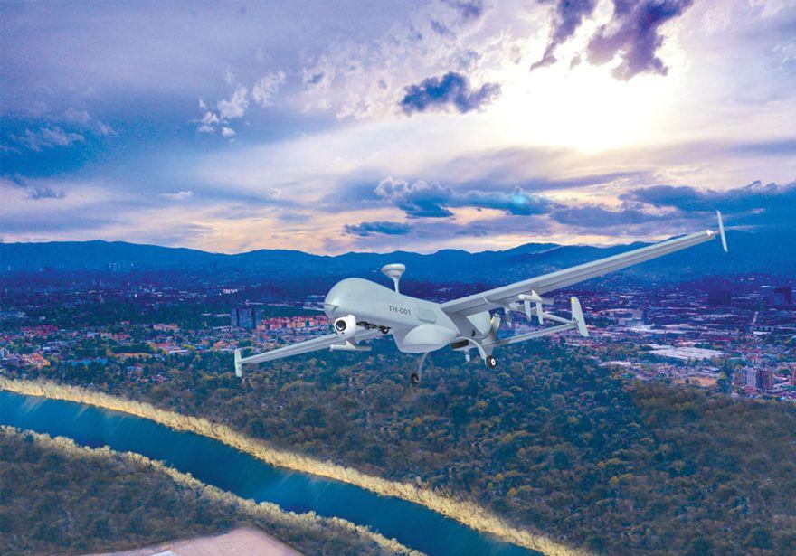 DISEÑADO PARA misiones tácticas en el campo de batalla, se espera que el T-Heron sea utilizado extensivamente por tropas terrestres y guardias costeros, así como por otras fuerzas de protección. (Crédito: IAI)