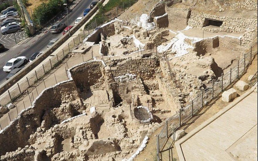 Las excavaciones arqueológicas de Mount Zion realizadas por la Universidad de Carolina del Norte, Charlotte, en cooperación con el Ashkelon Academic College, en el Parque Nacional de los Muros de Jerusalén, 2019. (Regina Winters)