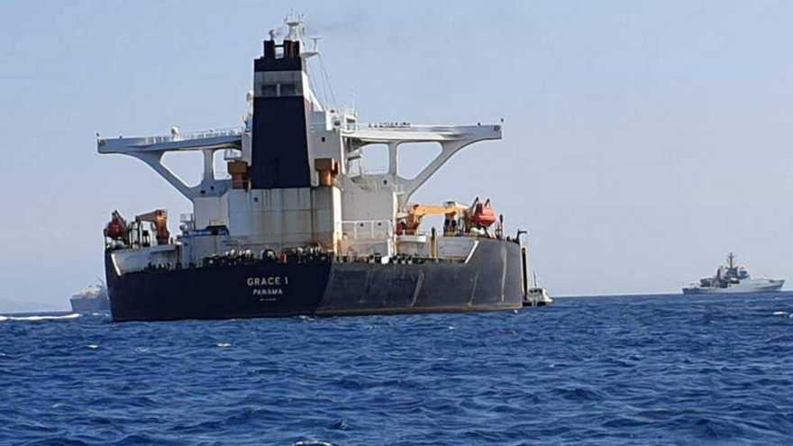 Irán niega que el petrolero detenido por Reino Unido se dirigía a Siria