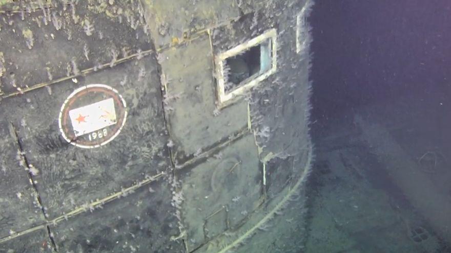 Murieron 42 de los 69 tripulantes del submarino nuclear.